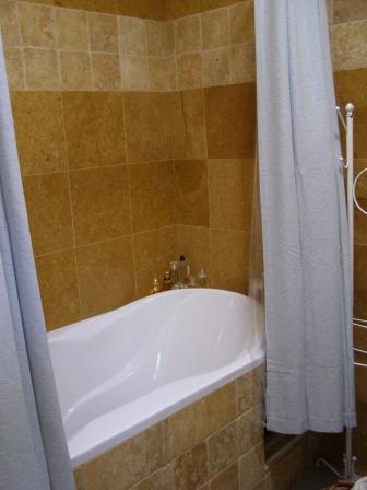 Golden Tile  bathroom